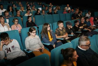 "Visually Impaired Persons Attended ""The Coach"" Documentary Screening"