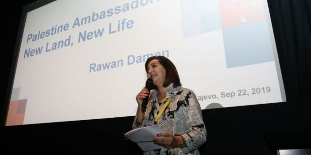 "Presentation of the Project ""Ambassador of Palestine: New Country, New Life"""